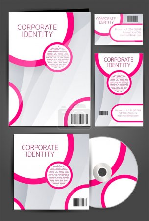 Illustration for Selected Corporate Templates  vector illustration - Royalty Free Image