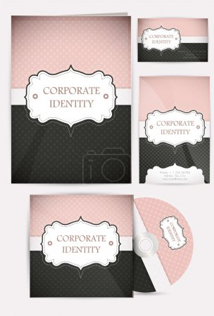 Selected Corporate Templates vector illustration