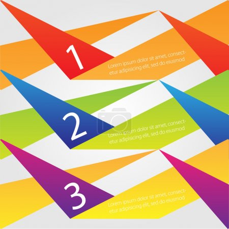 Illustration pour Fond vectoriel avec numéros - image libre de droit