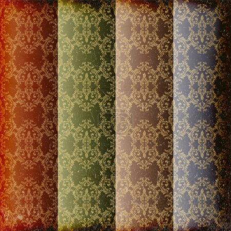 Set of 4 seamless patterns. Vector