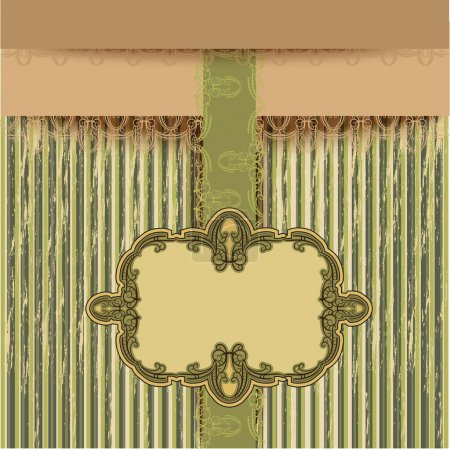 Retro background, vector illustration