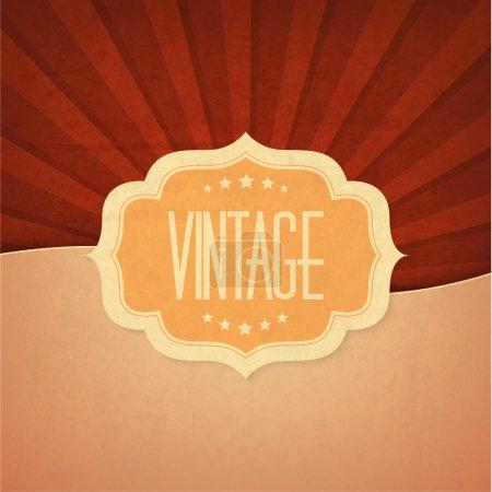 Vintage design element vector illustration