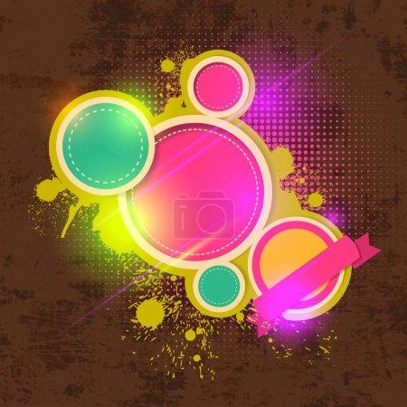 Illustration pour Illustration vectorielle de fond vectorielle abstraite - image libre de droit