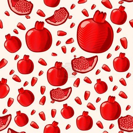 Illustration pour Savoureux fruits vecteur illustration - image libre de droit