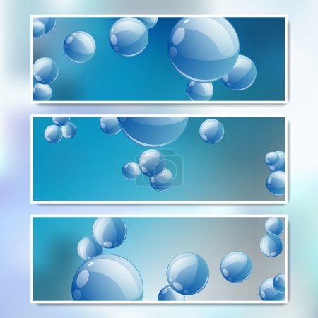 Illustration for Vector set of web banners - Royalty Free Image