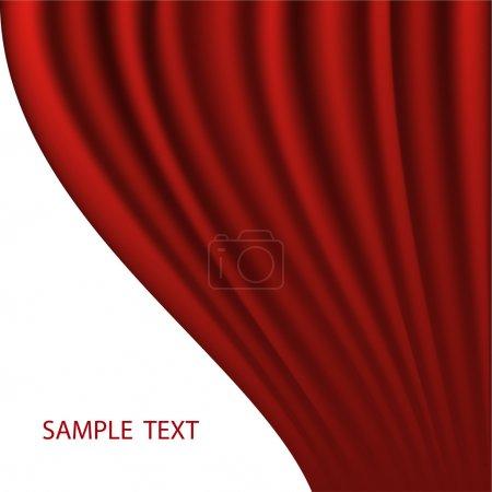 fond vectoriel abstrait rouge