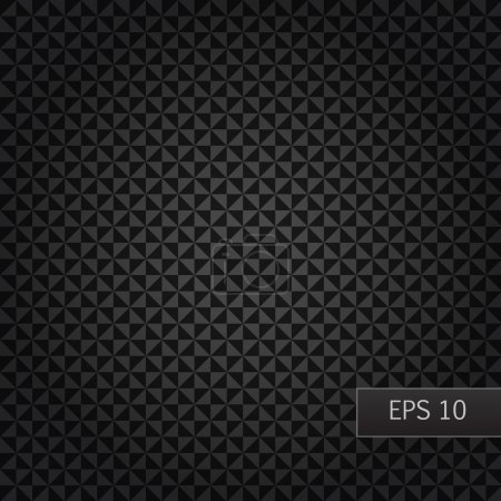 background with black triangles