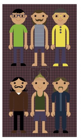 Illustration pour Conception de la carte postale du jour de l'indépendance - image libre de droit
