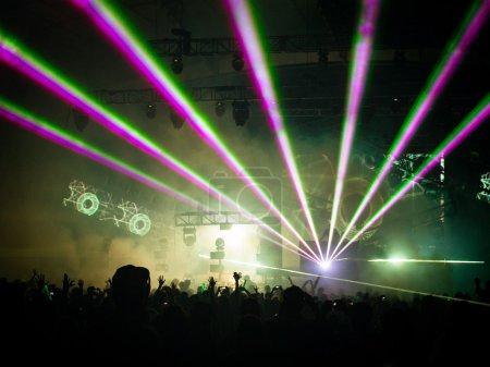 Photo pour DJ fixé à summadayze à melbourne, Australie - image libre de droit