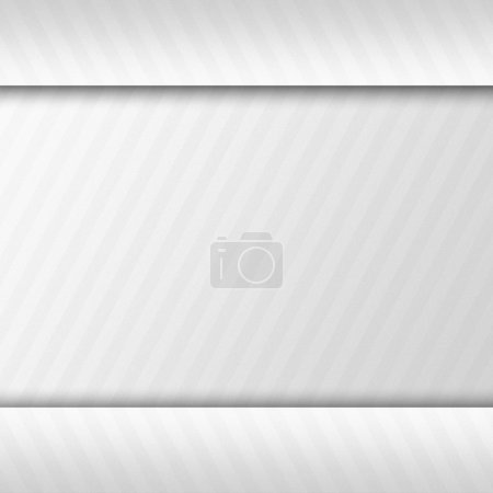 Striped grey, white, sliver background abstract design texture.