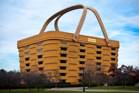 Basket Shaped Longaberger Company Home Office Building