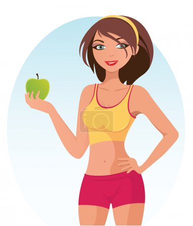 Healthy Fitness Girl