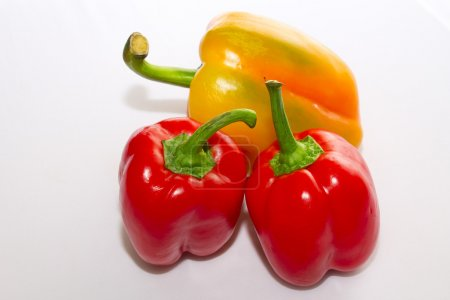 Peppers isolated