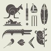 Austrálie ikony