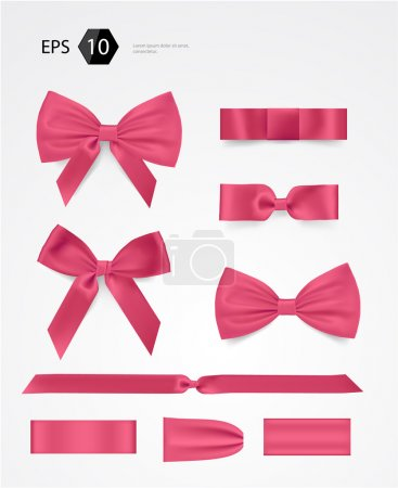 Illustration for Vector bow collection - Royalty Free Image