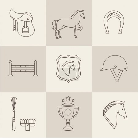 Horse icons