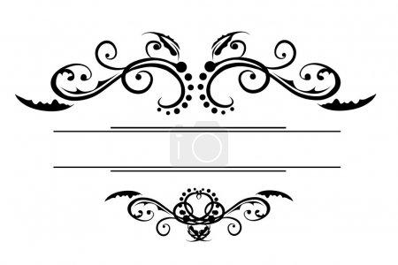 Ornate Centre Scroll