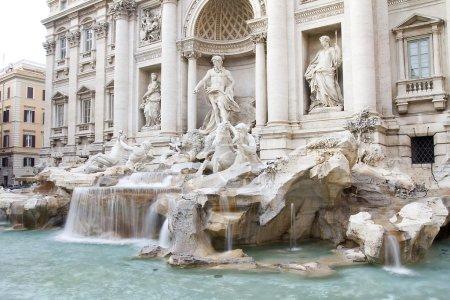 Baroque Fontana di Trevi, Rome
