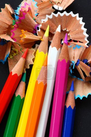 Photo for Colored pencils. - Royalty Free Image