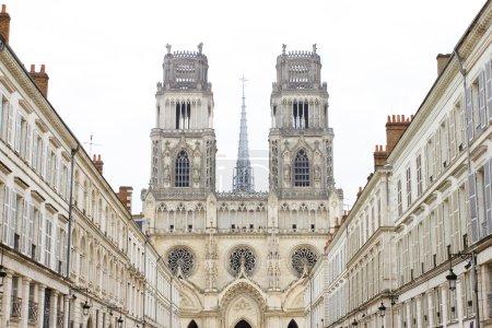 Photo pour Cathédrale Sainte-Croix à Orléans, france - image libre de droit