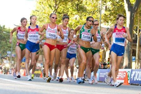 European Athletics - Walk for women