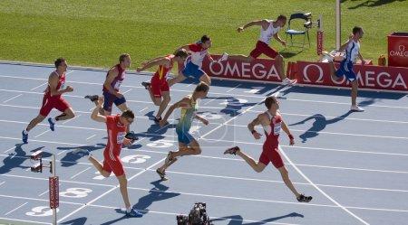 Athletics 100 meters