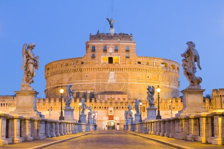 Castel Sant'Angelo or Castle of the Holy Angel, Ro...