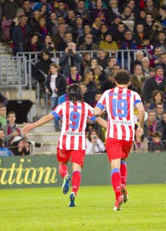 Falcao celebrating a goal