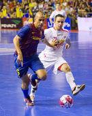 Futsal match FC Barcelona vs El Pozo