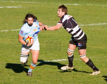 Rugby match USAP Brive