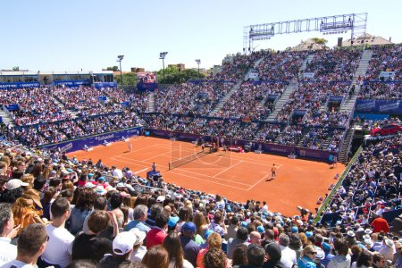 Tennis court of Barcelona