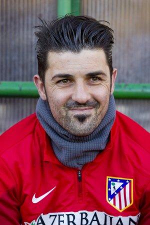 David Villa of Atletico de
