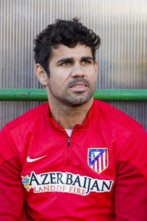 Diego Costa of Atletico de