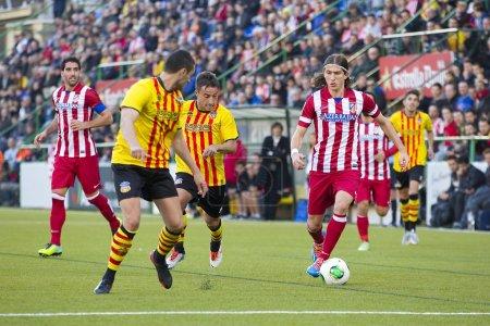 Filipe Luis of Atletico de