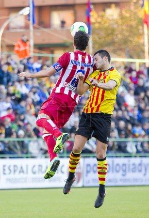 Raul Garcia of Atletico de