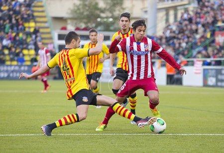 Oliver Torres of Atletico de