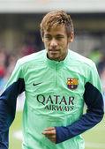 Neymar at FC Barcelona training session