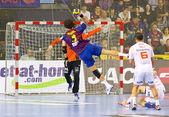 Handball match FC Barcelona vs Montpellier