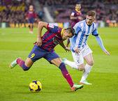 Alexis Sanchez of FC Barcelona