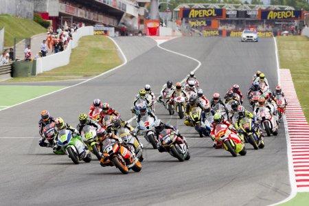 Moto Grand Prix race
