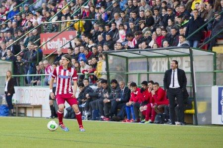 Filipe Luis and Simeone