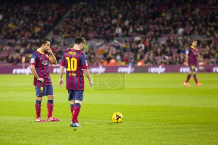 Messi and Xavi