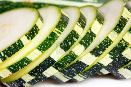 Sliced long marrow