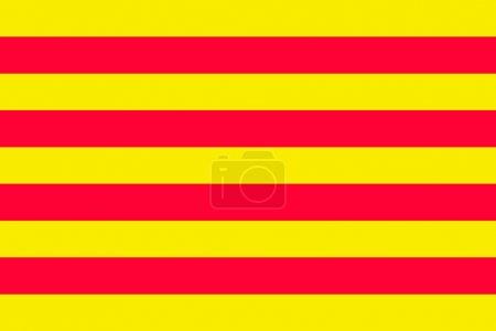 Catalan flag...