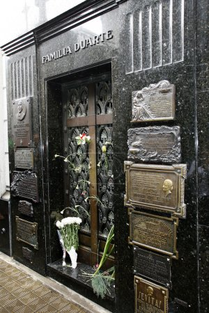 cemetery la recoleta, evita peron