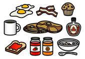 Breakfast Icons