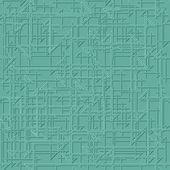 Elegant Teal Pattern 4