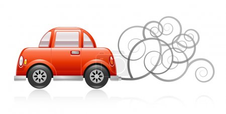 Pollution Car