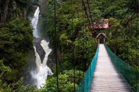 Горная река и водопад