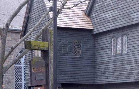 Witch House in Salem, MA, USA